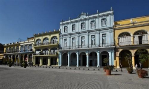 KUBA / Stolica / La Habana / La Habana serce starego miasta