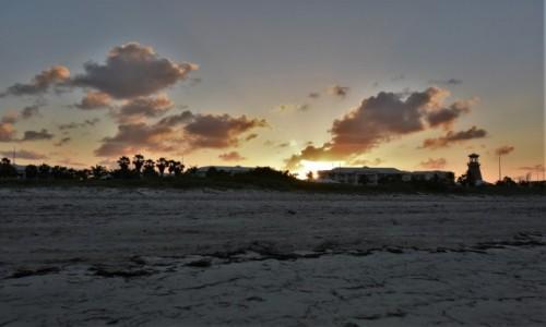 Zdjecie KUBA / Półwysep Varadero / Fiesta Americana Punta Varadero / Półwysep Varadero, plaża, zachód słońca