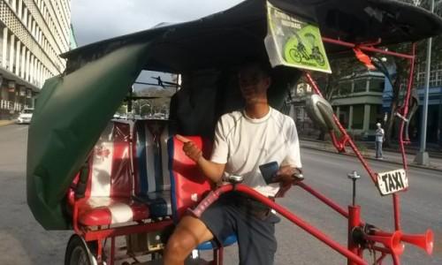 Zdjecie KUBA / Hawana / Hawana / Taxi rowerowe