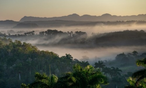 Zdjecie KUBA / / / Dolina Vinales / Vinales o świcie