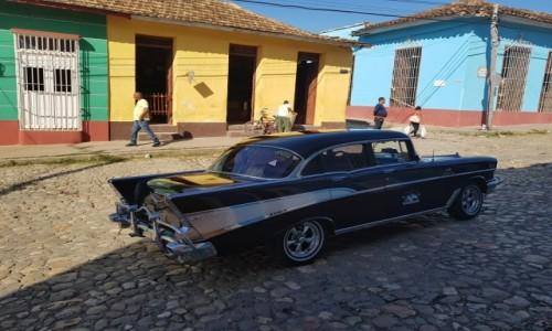 Zdjecie KUBA / - / Trynidad / Samochody