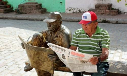 Zdjecie KUBA / Camagüey Province / Camagüey, Plaza del Carmen  / Sobowtór