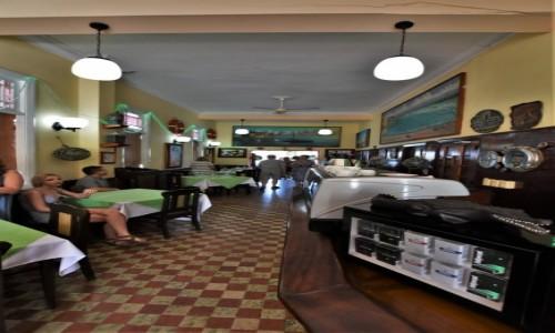 Zdjecie KUBA / La Habana / Cojimar / Cojimar, restauracja związana z Hemingwayem