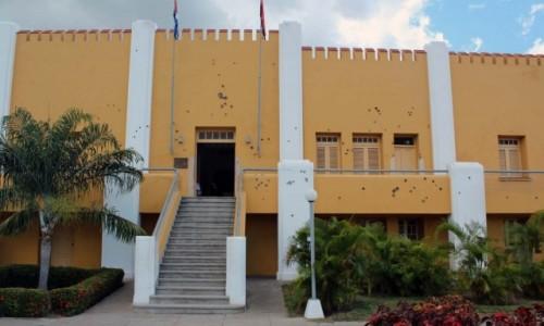 Zdjecie KUBA / Santiago de Cuba / Koszary Moncada / Koszary Moncada-Kolebka Rewolucji Kubańskiej
