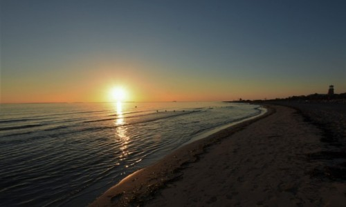 KUBA / Półwysep / Varadero / Varadero, wschód słońca