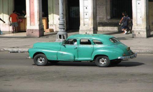 Zdjecie KUBA / Hawana / Hawana / old car