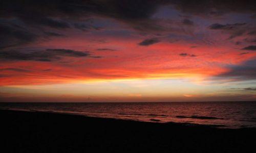 Zdjecie KUBA / Hawana / Kuba / wieczór nad wybrzeżem