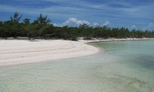 Zdjecie KUBA / północna kuba / Kuba / białe piaski wybrzeża pólnocnego