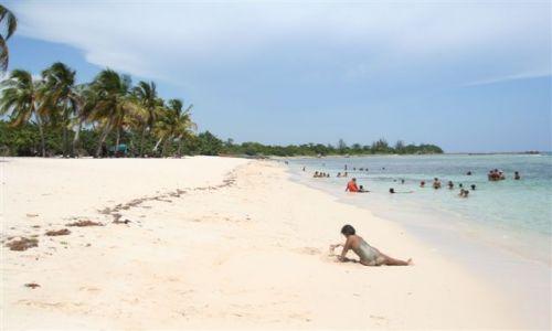 Zdjęcie KUBA / półwysep Zapata / Playa Giron / plaża dzika