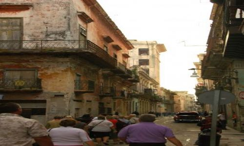 Zdjecie KUBA / brak / hawana / Ulice Hawany 4