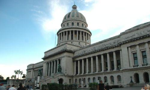 Zdjecie KUBA / brak / Havana / Pamiątka starej Kuby - Capitol