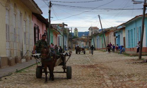 Zdjecie KUBA / brak / Trinidad / pojazdy Kuby