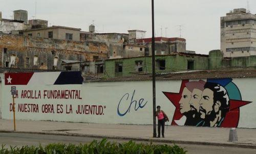 Zdjecie KUBA / - / Havana / Che i wszechobecna ideologia