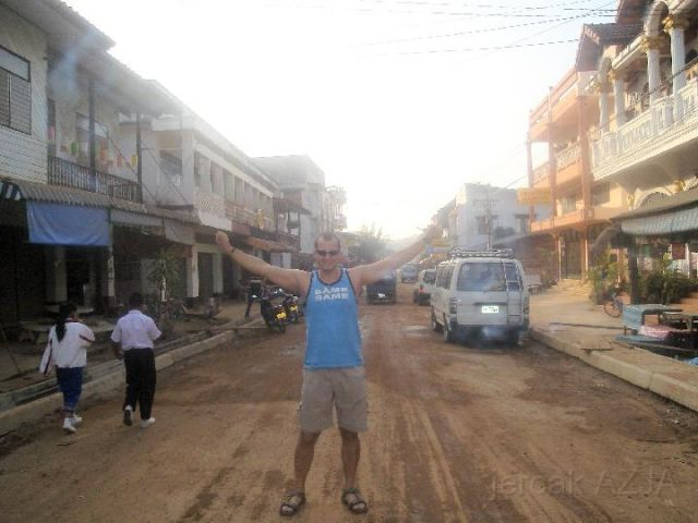 Zdjęcia: polnoc, -granica , laos, LAOS