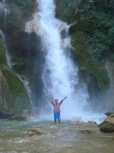 Zdjęcia: langparabang :D , południe, wodospad 2, LAOS