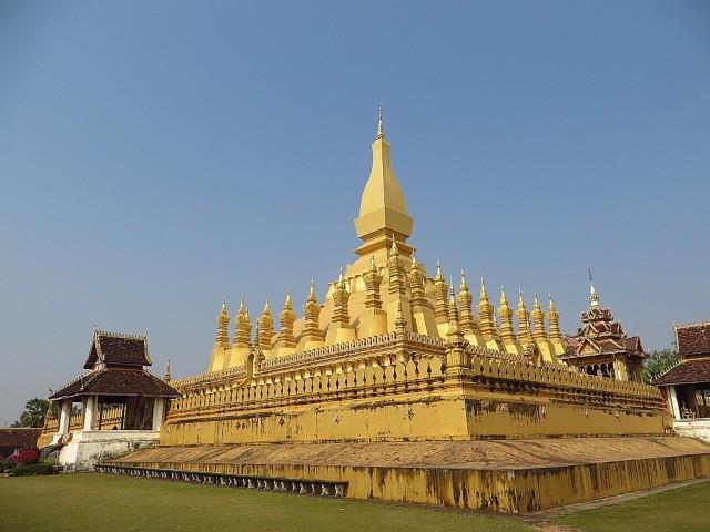 Zdjęcia: Vientiane, Vientiane, Królewska stupa, LAOS