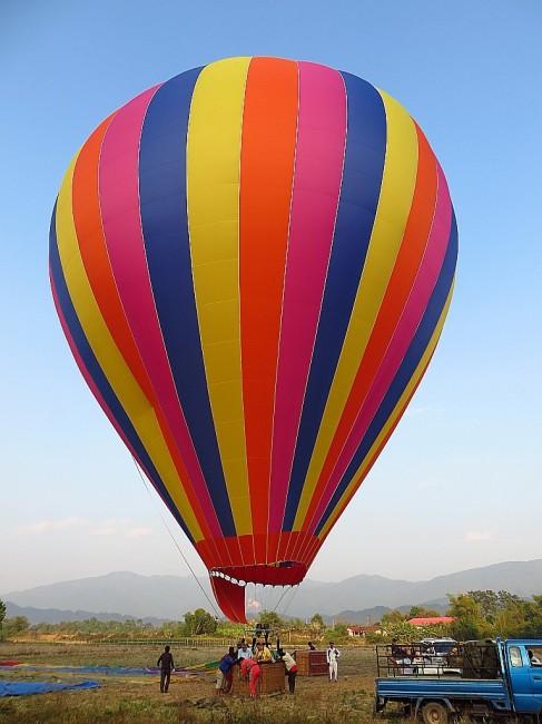 Zdjęcia: Vang Vieng, Laos północny, przed startem, LAOS