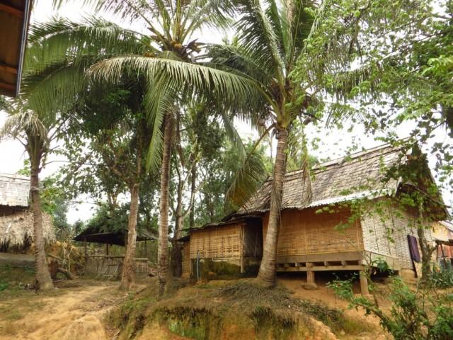 Ban That Laos  City new picture : Zdjęcia: wioska Ban Hat Sao, Laos północny, wiejska zabudowa, LAOS