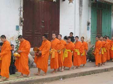 Zdjęcia: Laos, Mnisi laotańscy, LAOS