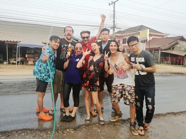 Zdjęcia: Vangvieng, Vangvieng, Laotański Nowy Rok, LAOS