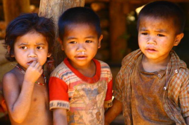 Zdjęcia: Południe, Dzieci Płaskowyżu Bolaven, LAOS