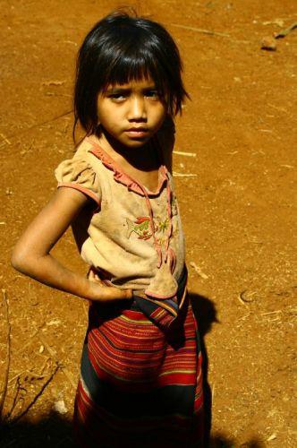 Zdjęcia: Bolaven, Mała Modelka, LAOS