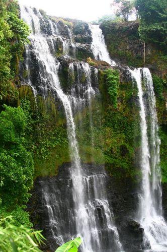 Zdjęcia: Płaskowyż Bolaven, Wodospadów na Bolavenie jest całe mnóstwo, LAOS