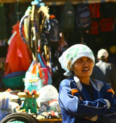 Zdjęcia: Bolaven, Targ dzienny2, LAOS
