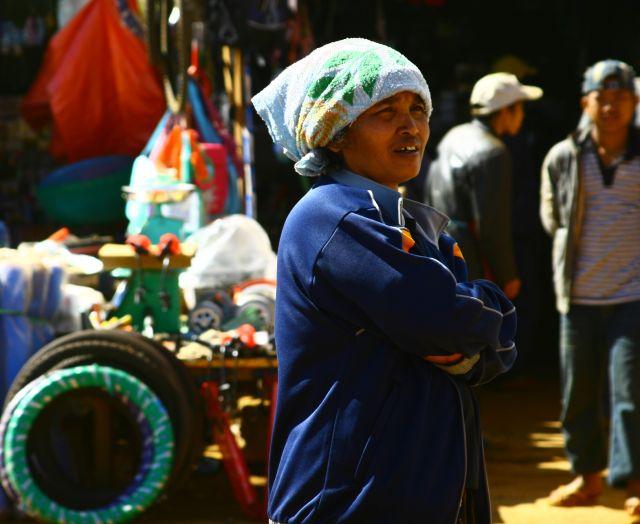 Zdjęcia: Bolaven, Targ dzienny, LAOS