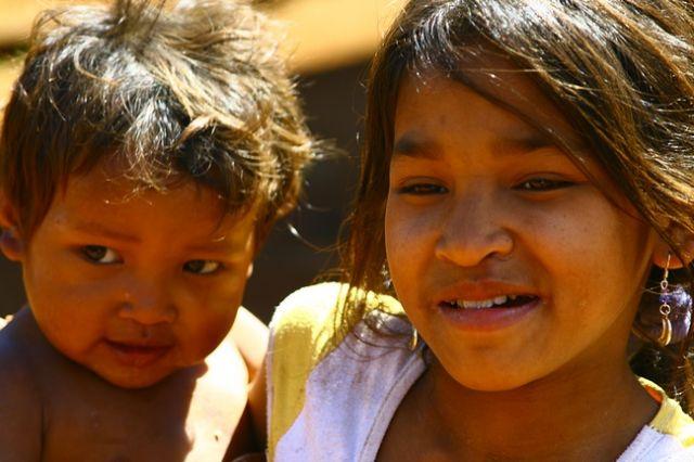 Zdj�cia: Bolaven, Mali  mmieszka�cy p�askowy�u, LAOS