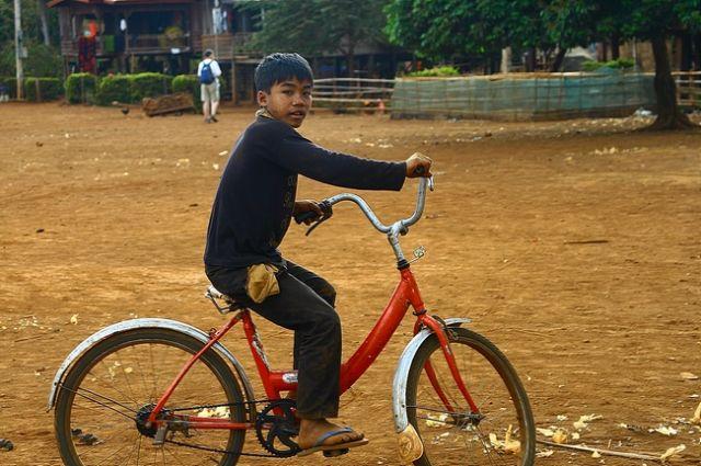 Zdjęcia: Płaskowyż Bolaven, W wiosce3, LAOS