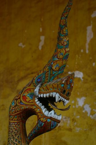 Zdjęcia: Vientiane, Wat Sisaket, LAOS