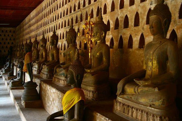 Zdjęcia: Vientiane, Wat Sisaket3, LAOS
