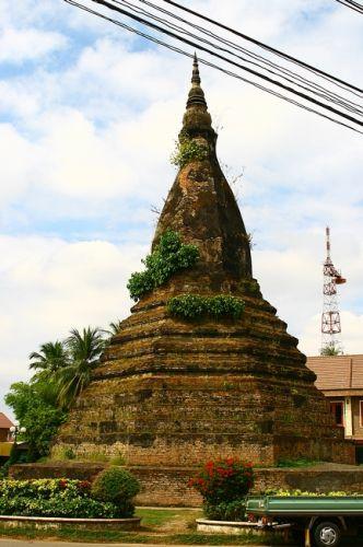 Zdjęcia: Vientiane, Czarna stupa, LAOS