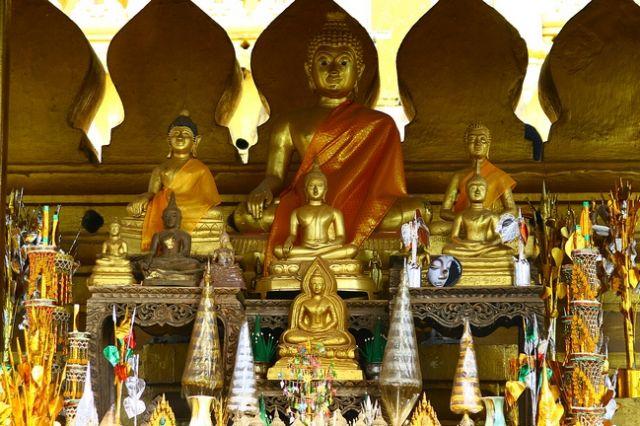 Zdjęcia: Vientiane, Złota Stupa_, LAOS