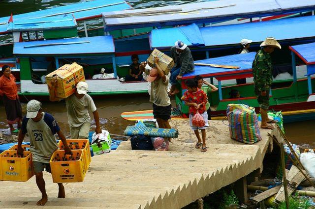 Zdjęcia: płn Laos, Mong Kiew2, LAOS