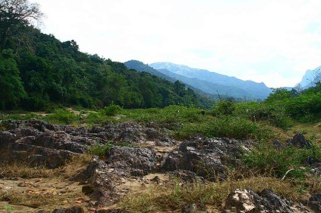 Zdjęcia: płn Laos, W drodze do Muang Ngoi Nua3, LAOS