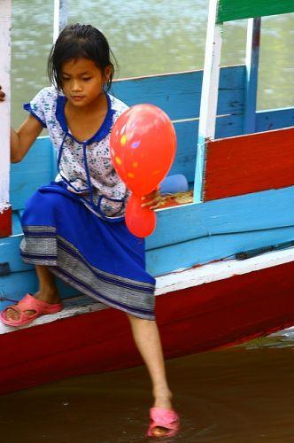 Zdjęcia: Muang Ngoi Nua. , Mieszkanka Muang Ngoi Nua. 2, LAOS