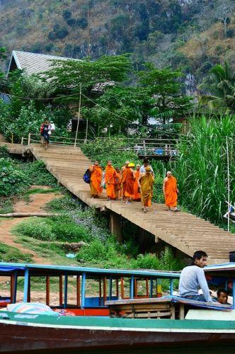 Zdj�cia: p�n Laos, Mong Kiew, LAOS