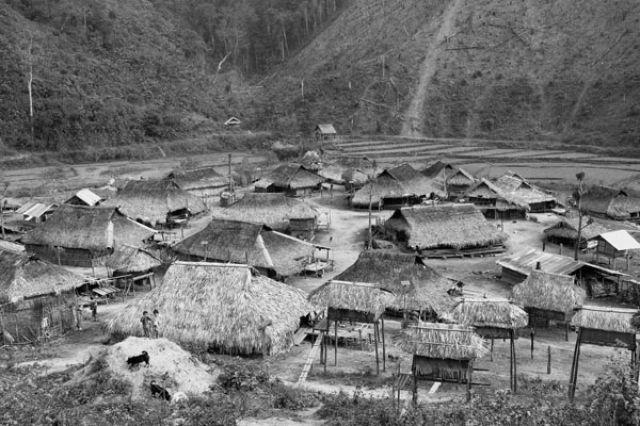 Zdj�cia: Wioska plemienia AKHA, FOTO 4, LAOS