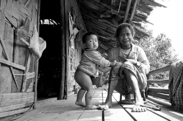 Zdj�cia: Kobieta z plemienia HMONG, FOTO 6, LAOS