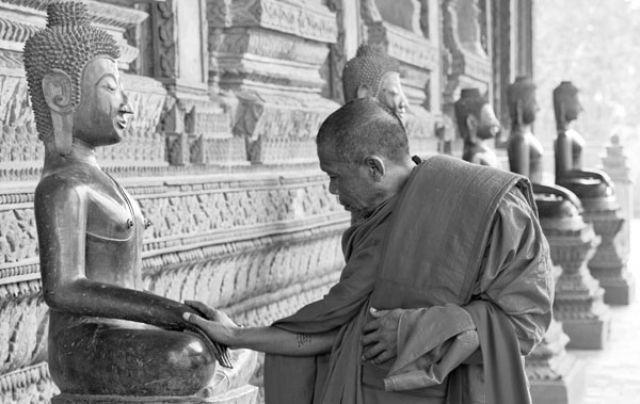 Zdjęcia: Złota Pagoda VIENTIANE, FOTO 8, LAOS