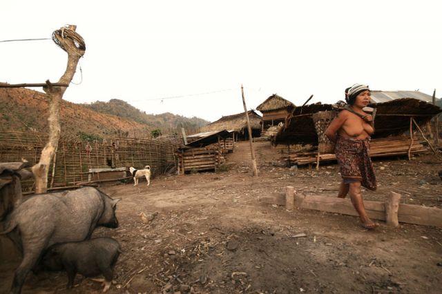 Zdjęcia: MUANG SING Plemie AKHA, AKHA 1, LAOS