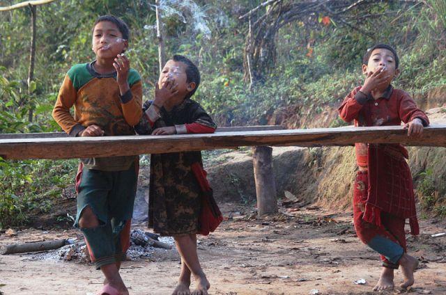 Zdjęcia: MUANG SING Plemie AKHA, AKHA4, LAOS
