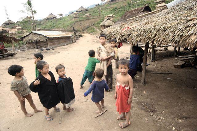 Zdjęcia: MUANG SING Plemie AKHA, AKHA 5, LAOS