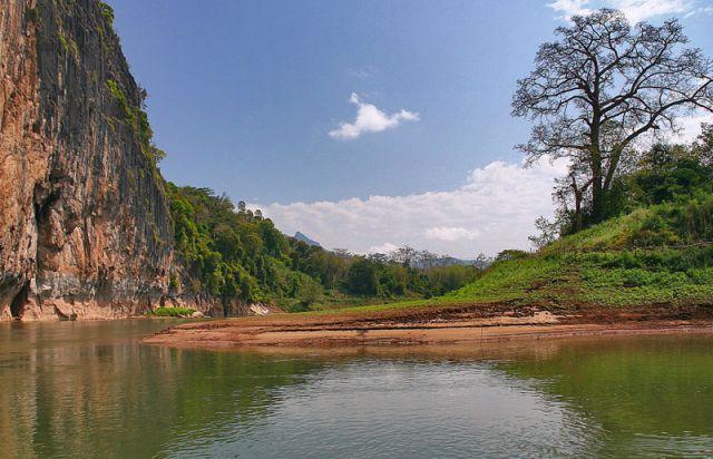 Zdjęcia: Rzeka MEKONG, ***, LAOS