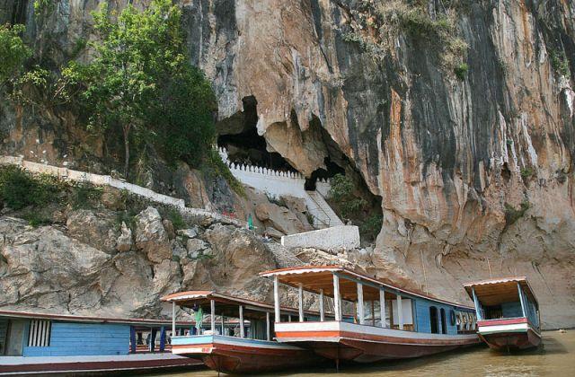 Zdjęcia: Mekong  Jaskinia PAK OU, Mekong, LAOS