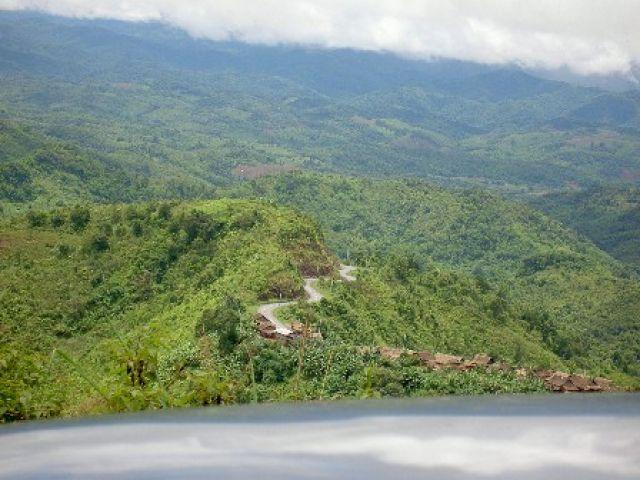 Zdjęcia: Polnocny Laos, Polnocny Laos, Krete drogi Laosu, LAOS