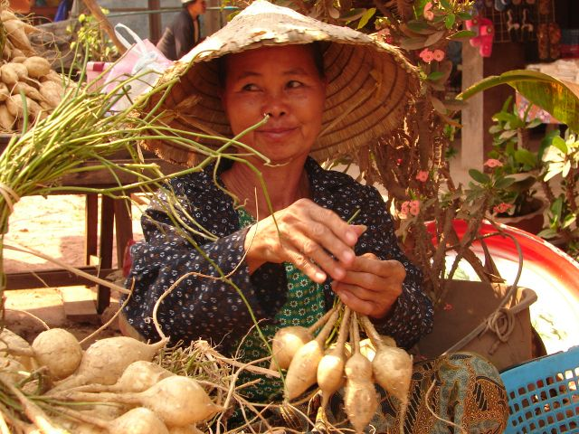 Zdjęcia: market, market, LAOS
