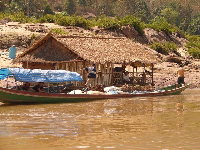 Zdj�cia: Mekong , na rzece , LAOS